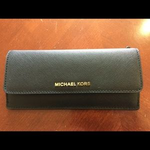 Michael Kors saffiano slim envelope wallet